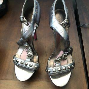 Paris Hilton pink bottom shoes